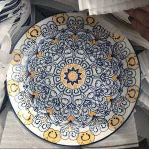Plates Moroccan style Dinner plate 10 inches