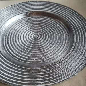 Plates Spiral Charger Plates 13 inches diningware